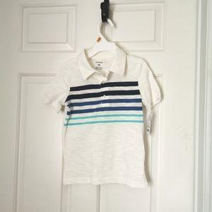 2/$20 BNWT Carter's boys striped polo size 4